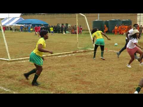 Team Winnie Mashaba against Thohoyandou inmates at Makhado correctional center
