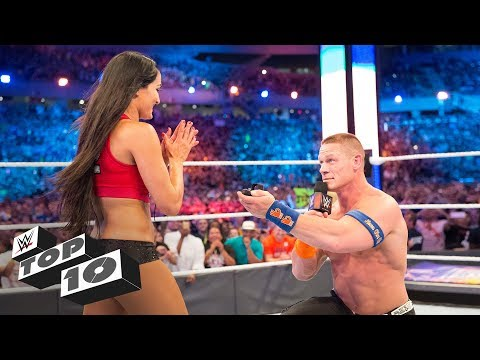 Stunning in-ring proposals: WWE Top 10, Nov. 27, 2017