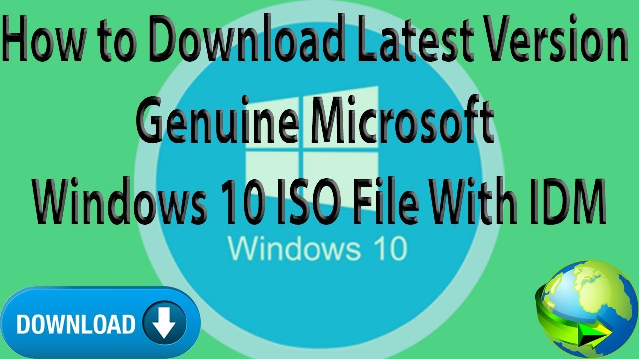 How to download a genuine microsoft windows 7, 8. 1, 10 pro.