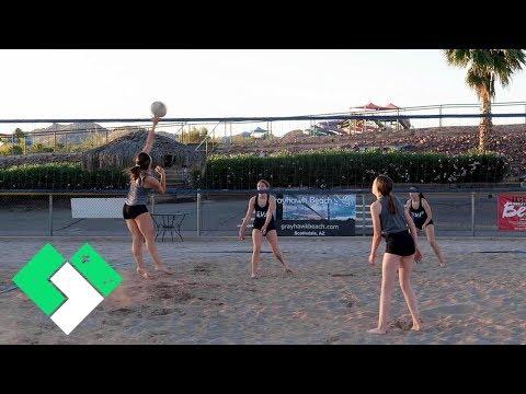 🏐 Sierra's First Beach Volleyball Tournament | Clintus.tv