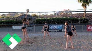 🏐 Sierra's First Beach Volleyball Tournament   Clintus.tv