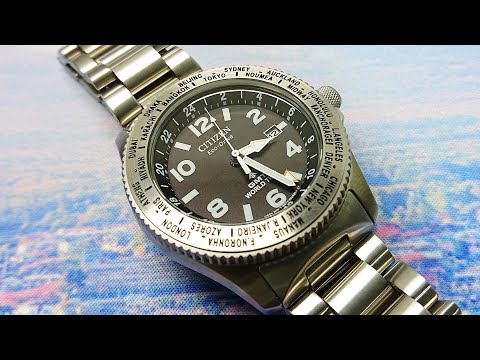Citizen Promaster WorldTime GMT BJ7100-82E Watch Review