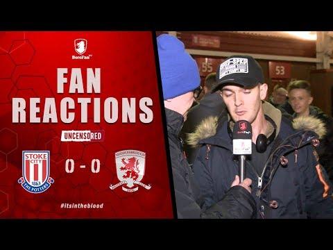 F**K JAMES MCCLEAN F**K JAMES MCCLEAN - Stoke City v Middlesbrough Fan Reaction
