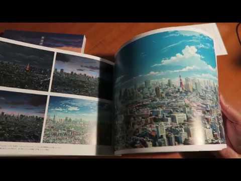 Your Name Official Visual Guide Book Makoto Shinkai Kimi no Na wa