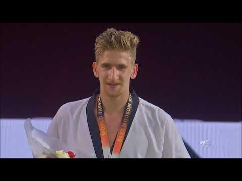 World Taekwondo Grand-Prix Moscow 2018. M - 80. Награждение.