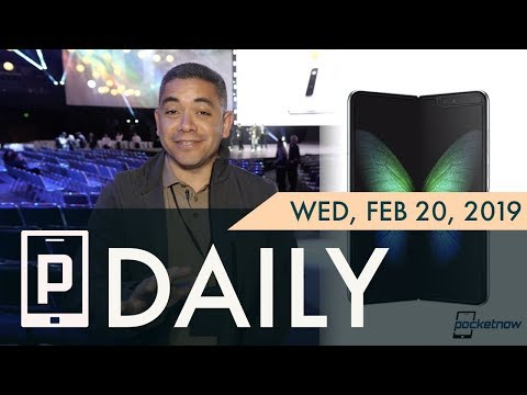 Samsung Galaxy Fold is hot, Galaxy S10 5G & more details - Pocketnow Daily Mp3