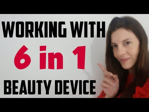6 in 1 BEAUTY instrument | #GLOW RF EMS. How to use 6 in 1 B