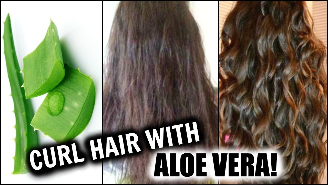 Curl Hair With Aloe Vera Natural Hair Curling Gel At Home W