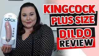 Kingcock Suction Cup Dildo | Realistic Dildo for Women | Plus Size Dildo Review
