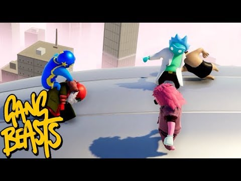 GANG BEASTS ONLINE - Win, Win Situation!!! [MELEE]