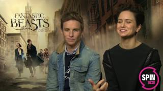 Fantastic Beasts Stars Eddie Redmayne & Katherine Waterson on Plan B