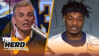 Derwin James on his rookie year with the Chargers, facing the Chiefs and more | NFL | THE HERD