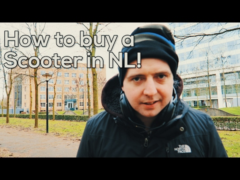 How to buy a Scooter in the Netherlands 😃