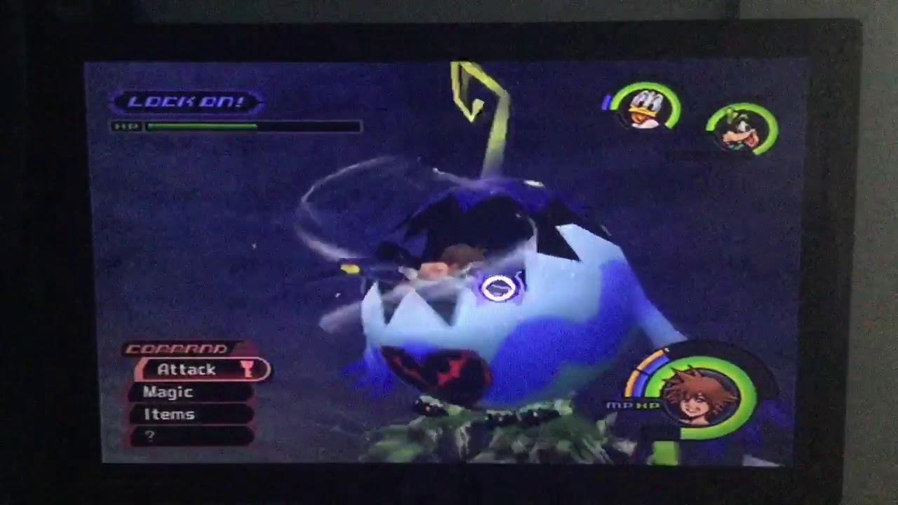 Kingdom Hearts (PS2) Playthrough: Monstro (True Last Half ...