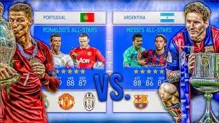 Ronaldo's ALL-STARS vs. Messi's ALL-STARS! - FIFA 19 Career Mode Experiment