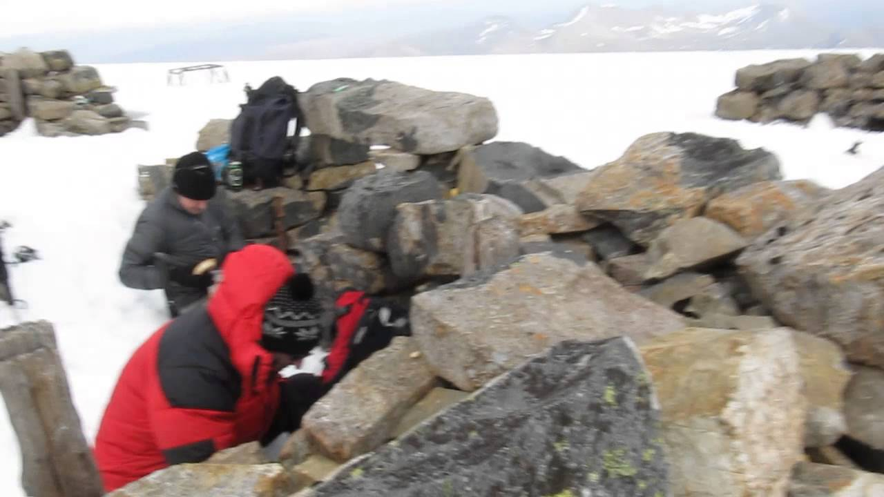 Wild camp on Ben Nevis (cooking dinner), 25th May 2013 ...
