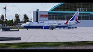 Microsoft Flight Simulator X - Самара - Екатеринбург - Boing 737-800 - TSO