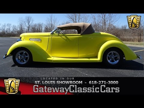 #7637 1936 Ford Convertible - Gateway Classic Cars St. Louis