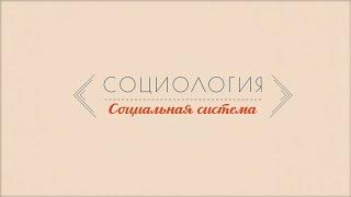 Лекция 1.2 | Социальная система | Марина Арканникова | Лекториум