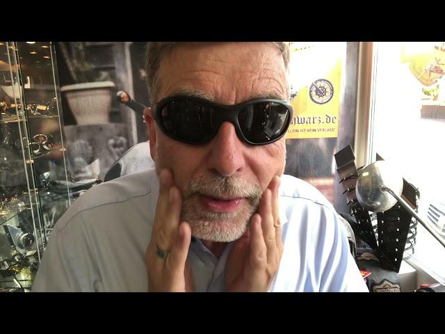 Bikerbrillen bzw. Chopperbrillen Tips: die Brille unter dem Klapp- bzw. Integralhelm
