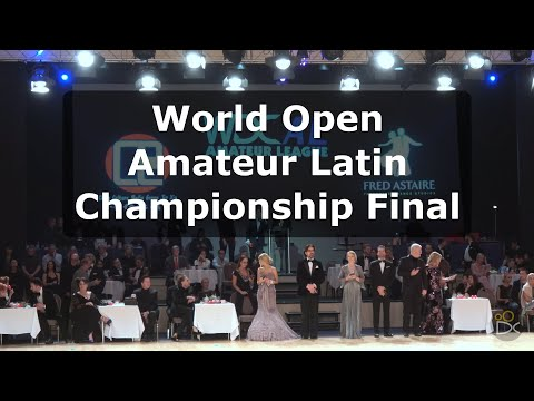 Open World Amateur Latin Championships - Disney 2018   Final 4K