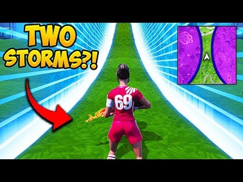*SUPER RARE* 2 STORM CIRCLES IN ONE GAME! – Fortnite Funny Fails and WTF Moments! #522