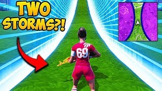 *SUPER RARE* 2 STORM CIRCLES IN ONE GAME! - Fortnite Funny Fails and WTF Moments! #522 thumbnail