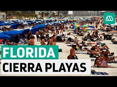 Coronavirus EEUU   Florida cerrará playas debido a preocupante ola de contagios