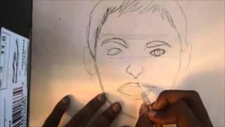 How to draw Ellen Degeneres Pencil