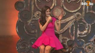 Katrina Kaif Shows Her Thighs At Dhoom 3 Song Promotion