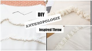 DIY| Antropologie Inspired Throw