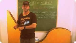 Teoria 6 Energia Mecanica(Cinética e Potencial Gravitacional)  www.cursoernani.com