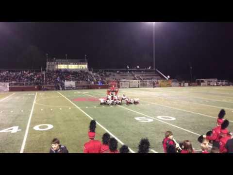 Claremore high school senior night football class of 2016 dance team