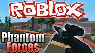 SNIPING PEOPLE IN ROBLOX - Phantom Forces (Roblox)