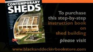 Building A Garden Shed Video | Home Plans And More