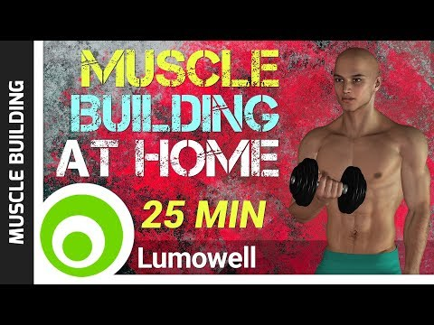 Easy Workout to Gain Muscle at Home – Muscle Building Exercises for Beginners