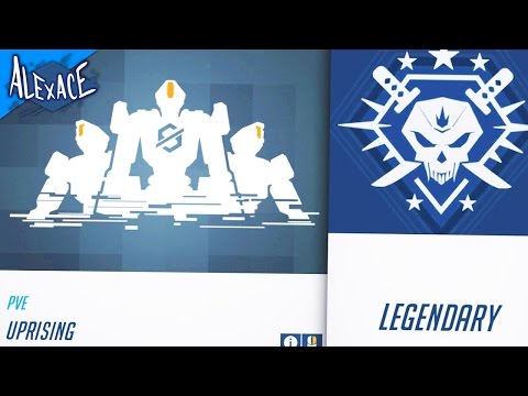 OVERWATCH'S UPRISING ON LEGENDARY DIFFICULTY!? l OVERWATCH EVENT GAMEPLAY