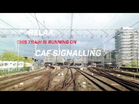 CAF Signalling, Driving the future of signalling