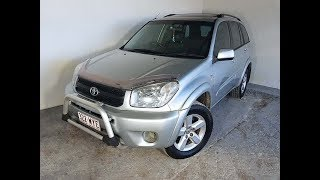 4×4 SUV Toyota RAV4 Cruiser Wagon Manual 2004 Review For Sale