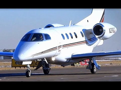 Embraer Phenom 300 - Arrival and Shutdown - Greeley Weld County