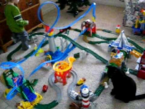 Train Set Christmas