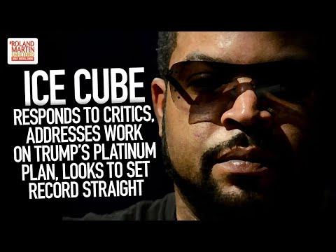 Ice Cube Responds To Critics, Addresses Work On Trump's Platinum Plan, Looks To Set Record Straight