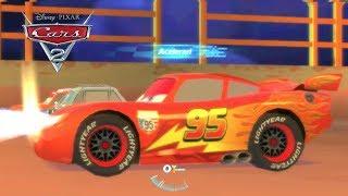Jogo Carros 2 : Relâmpago Mcqueen Nada bem Vindo a Bordo - Gameplay