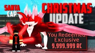 CHRISTMAS RC/YEN CODE IN ROBLOX RO-GHOUL