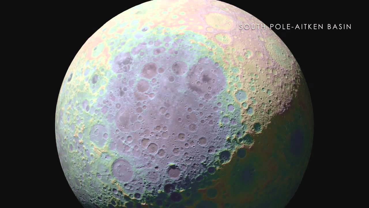 NASA | LRO | Тур по Луне
