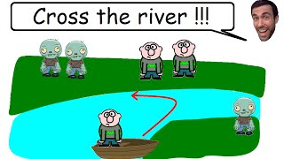 Crossing The River - Brain Teaser