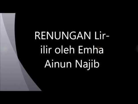 Renungan Lir-ilir oleh emha ainun najib(cak nun)