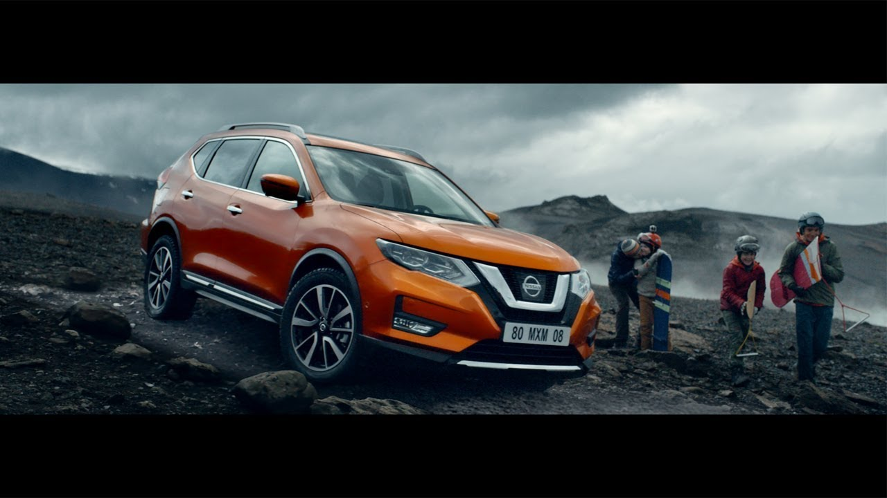 "NISSAN X-TRAIL 2017 COMMERCIAL ""THE VOLCANO"" - YouTube"