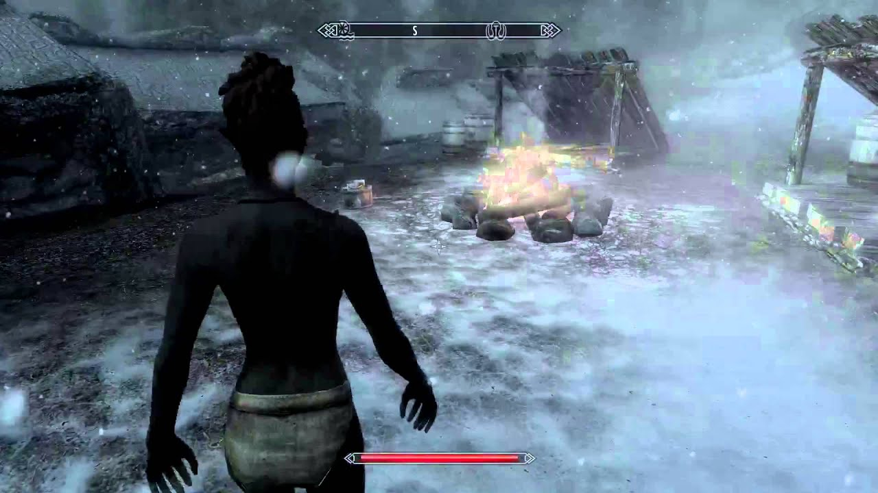 How to leave Beast / Werewolf Form - Skyrim - YouTube