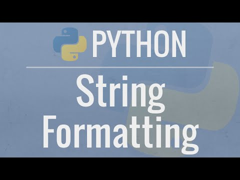 Python Tutorial: String Formatting - Advanced Operations for Dicts, Lists, Numbers, and Dates